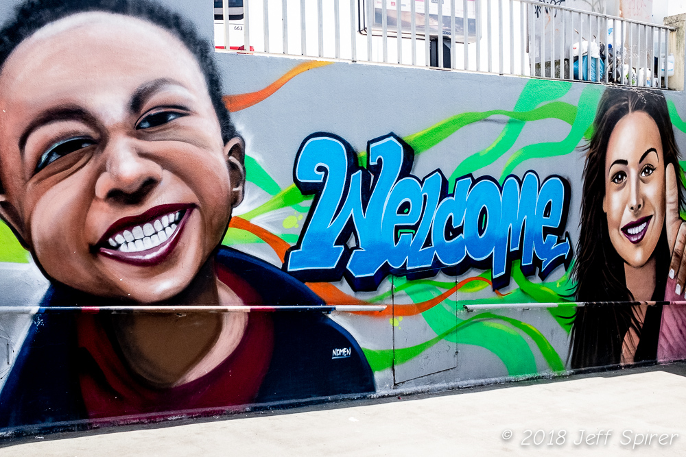 Welcome Street Art