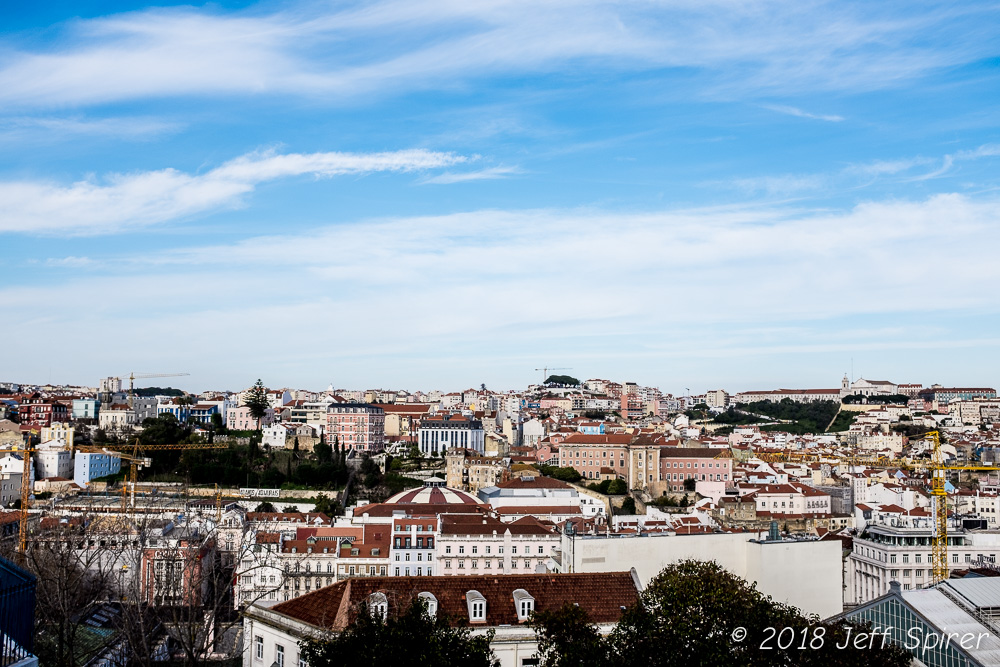 Lisbon Skyscape