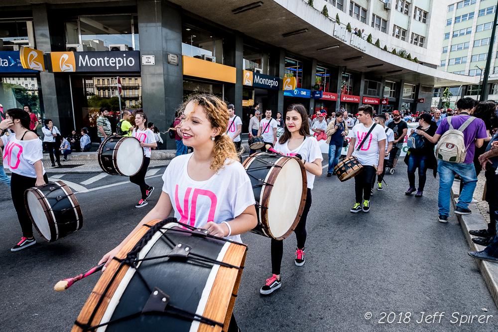 Carnation Revolution Drummers