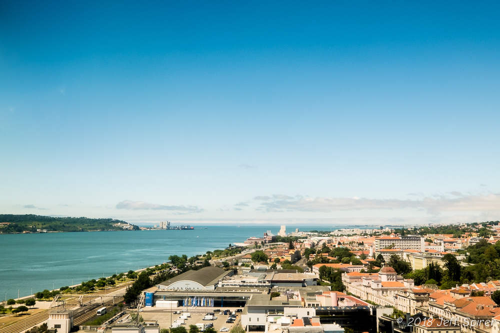 Lisbon from the Ponte 25 de Abril